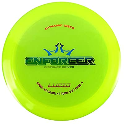 Dynamic Discs Lucid Enforcer Distance Driver Golf Disc [Colors may vary]