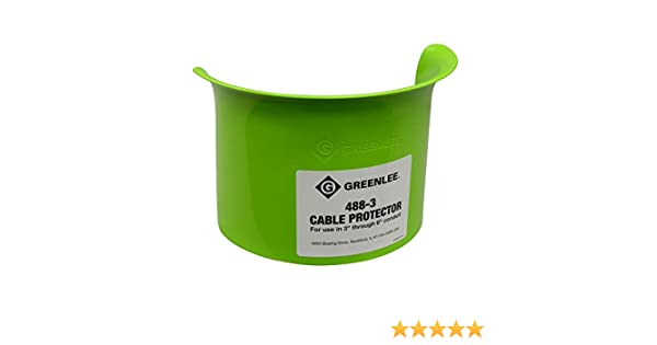 """GREENLEE #488-2 Nylon Cable Protector for 2/""""-2.5/"""" Conduit BRAND NEW"""