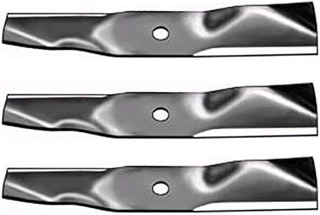 Amazon.com: (3) cortacésped cuchillas para john deere ...