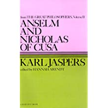 Amazon ralph jaspers books anselm and nicholas of cusa from the great philosophers the original thinkers harvest book fandeluxe Image collections
