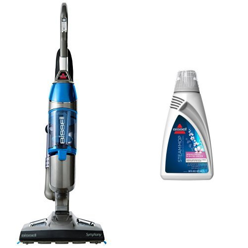 Bissell-1132A-Symphony-All-in-One-Vacuum-and-Steam-Mop-4-Mop-Pads-Included