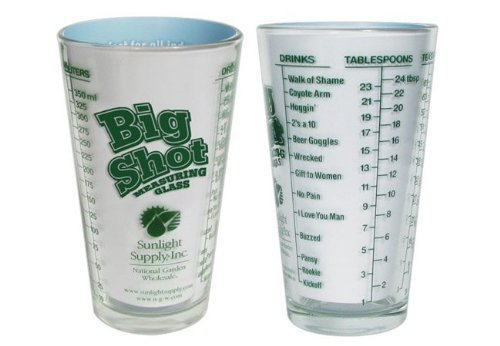 BIG SHOT MEASURING GLASS 16oz 740625