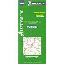 Michelin Poitiers Map No. 3086