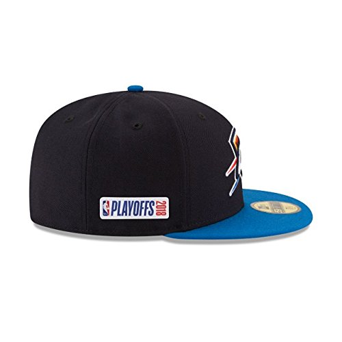 official photos d036b b1649 Amazon.com   New Era Oklahoma City Thunder 2018 NBA Playoffs Fitted 59Fifty  Hat   Sports   Outdoors