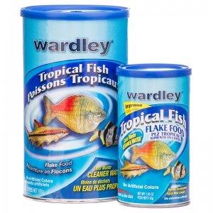 Wardley Tropical Premium Fish Flake Size: 1.95 (Flakes 1 Ounce Tube)