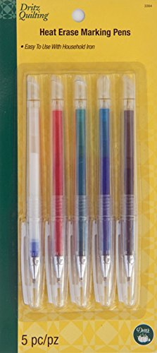 Dritz Quilting Heat Erase Pens 5 Ct