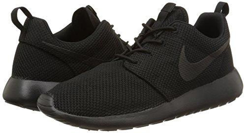 Image of the Nike Men's Roshe One Running Shoes, Black/Black, 11 M US