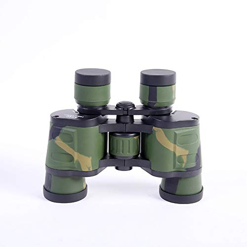 RYRYBH Fashion Light and Convenient Binoculars 8X40 Tourism Outdoor Telescope Two Fingerprints Camouflage Telescope Telescope (Size : Height 135mm) by RYRYBH