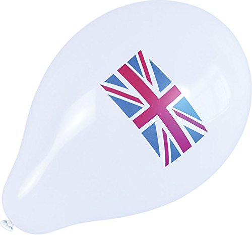 Pack Of 10 Union Jack Balloons]()