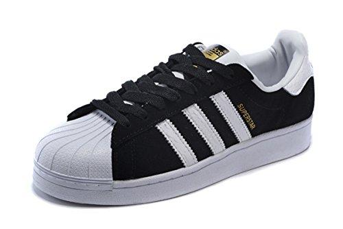 adidas Originals Superstar Foundation women's Fashion Sneaker Black/white