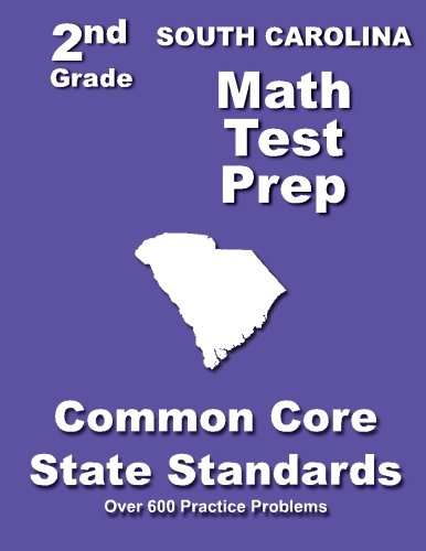 Download South Carolina 2nd Grade Math Test Prep: Common Core State Standards pdf