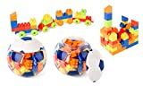 LELE Brother Happy Blocks Soccer Ball - Blue