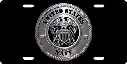 United States Navy License Plate Tag from