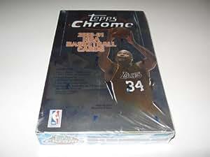2000/01 Topps Chrome Basketball Box (Hobby)