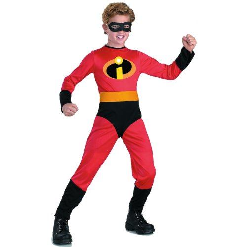 The Incredibles Baby Halloween Costumes (Disney The Incredibles Dash Classic Boys Costume, Small/4-6)