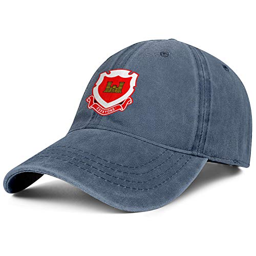 US Army Corps of Engineers Regimental Crest Trucker Athletic Snapback Mesh Hats One Size Cap ()