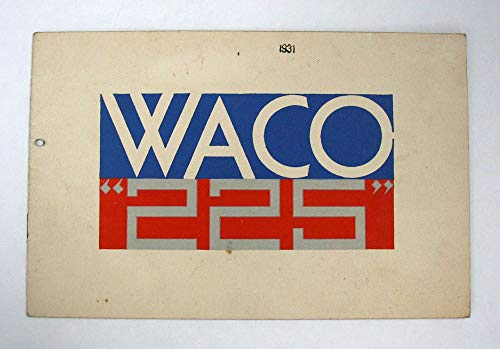 """The WACO """"225""""., used for sale  Delivered anywhere in USA"""
