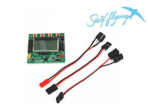 Swiftflying KK 2.1.5 LCD Multirotor Flight Control Board KK2.1.5 Newest V1.17S1 Quadcopter KK2 6050MPU 644PA