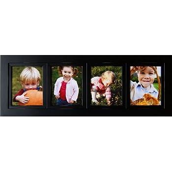Amazon Com Collage Frames 4 Opening Black 5x7 Multi