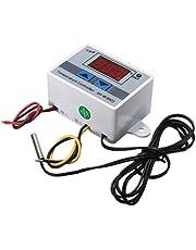 Mostra XH-W3001 220V 10A Regolatore digitale di temperatura del LED con termostato interruttore di comando della sonda