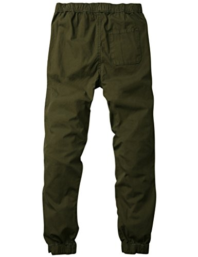 Vert Armée Pantalons Green 6535 Jogger Match Homme 6535 Chino Pour army FxS78