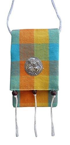 Ariyas Thaishop, Stoff Brustbeutel; 8 x 14 cm (b x h); Länge Kordel: 100 cm