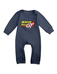 The Most Famouse Anime Dragon Ball GT Logo Baby Onesie Romper Jumpsuit Bodysuits