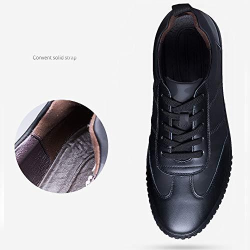Scarpe Britannica Uomo Primo Uomo YXLONG Uomo Black Nuovo In Scarpe Casual Moda Pelle Pelle Strato Scarpe Da Da Autunno Scarpe In Scarpe Da 4xx6PqZ