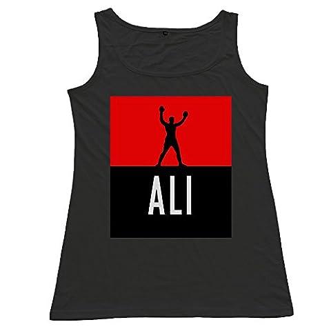 LUKEYA Muhammad Ali Small Women T-shirt Vest Tank Top (Burke Wireless Mouse)