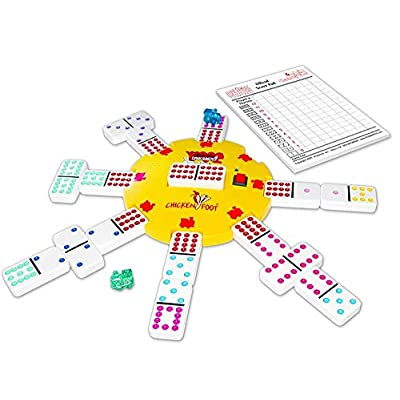Electronic Hub Mexican Train Chicken Foot: Toys & Games