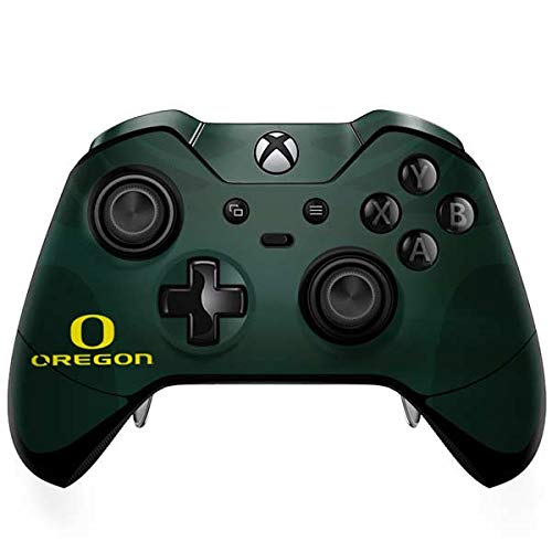 (Skinit Oregon Ducks Logo and Wings Xbox One Elite Controller Skin - Officially Licensed Fermata College Gaming Decal - Ultra Thin, Lightweight Vinyl Decal Protection)