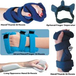 Patterson Medical Comfy Wrist / Hand / Finger Orthosis Splints (PEDIATRIC, HAND, WRIST, FINGER)
