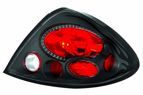 IPCW CWT-CE518CB Crystal Eyes Bermuda Black Tail Lamp - Pair