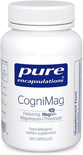 Pure Encapsulations Hypoallergenic Supplement Magnesium L Threonate