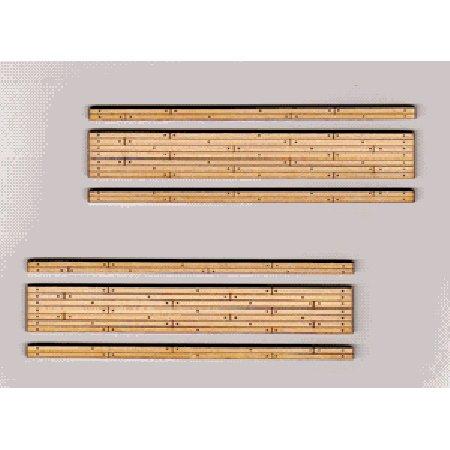 Scale Wood Grade Crossing - N Laser-Cut Wood Grade Crossing (2)