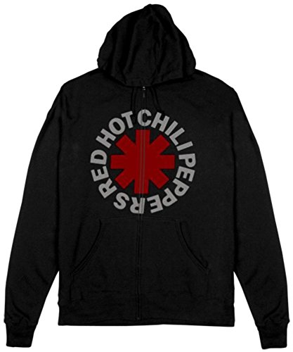 - Zip Hoodie: Red Hot Chili Peppers- Asterisk Size M