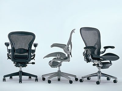 amazon com herman miller aeron chair large size c kitchen dining