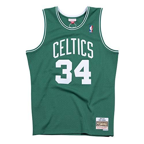 Mitchell & Ness Boston Celtics Paul Pierce 2007 Road Swingman Jersey (X-Large)