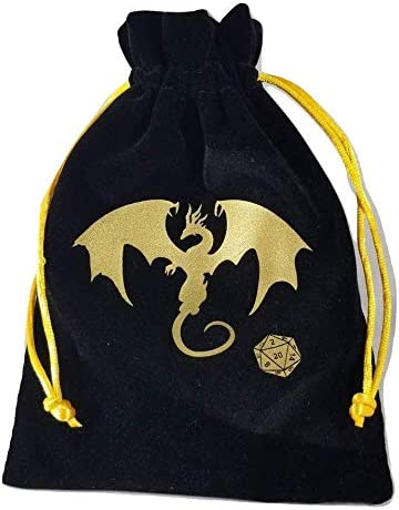 Dungeons Dragons Velvet Drawstring Interior product image