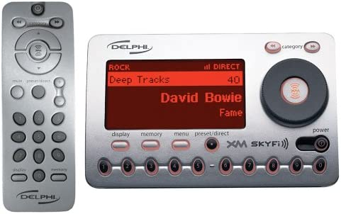 Discontinued by Manufacturer Delphi SA10000 XM SKYFi Radio Receiver