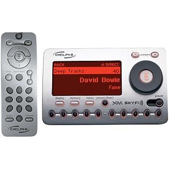 amazon com delphi sa10000 xm skyfi radio receiver discontinued by rh amazon com Delphi XM SKYFi2 Delphi XM SKYFi2