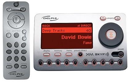 amazon com delphi sa10000 xm skyfi radio receiver discontinued by rh amazon com XM SKYFi2 Cradle Delphi XM SKYFi Accessories