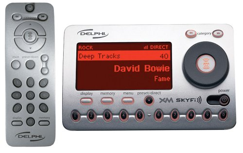 Delphi SA10000 XM SKYFi Radio Receiver (Discontinued by Manufacturer) (Xm Radio Kit Delphi Car)