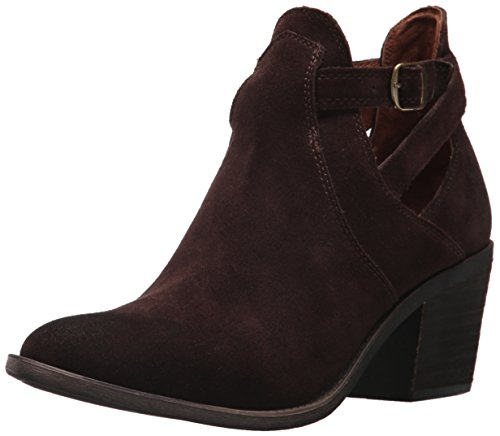 Lucky Brand Women's Nandita Ankle Boot, Java, 7 Medium US