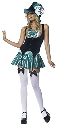 Leg Avenue Women's Tea Party Hostess, Multi, ()