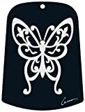 Carson Home Accents Butterfly Chime, Sail