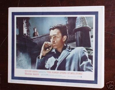 Original Lobby Card 11X14 Romas Spring Mrs Stone - Roma Spring