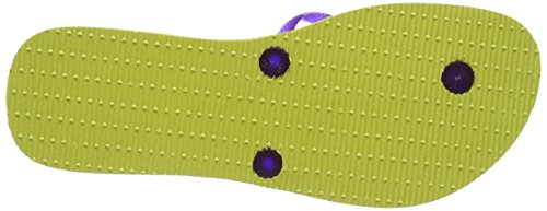 Havaianas Zehentrenner Damen Flat Sunset Yellow/Purple