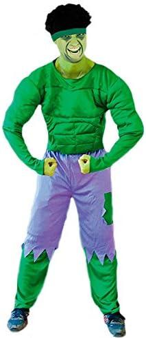 Disfraz de Monstruo Verde hombre adulto: Amazon.es: Juguetes y juegos