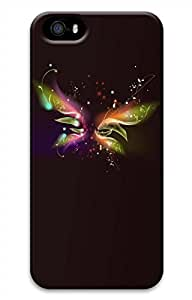 iPhone 5 5S Case Beautiful Butterfly Funny Lovely Best Cool Customize iPhone 5 Cover